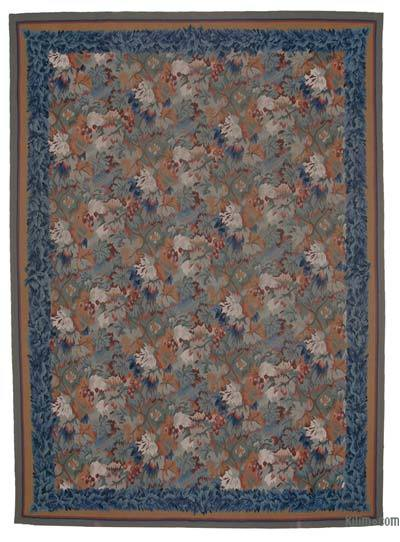 "Aubusson Rug - 8' 7"" x 12' 1"" (103 in. x 145 in.)"