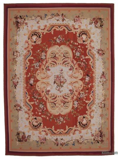 "Aubusson Rug - 10' 1"" x 14'  (121 in. x 168 in.)"