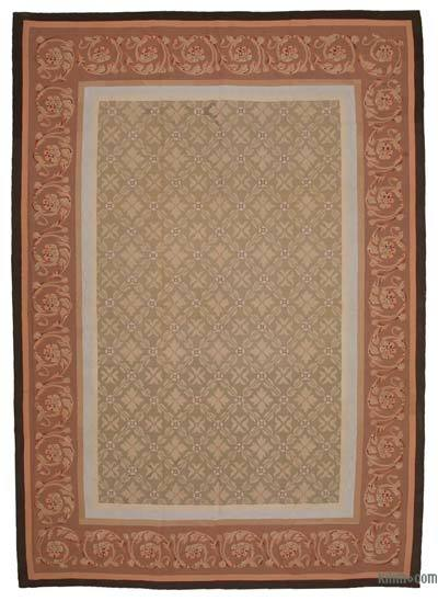 "Aubusson Rug - 9' 8"" x 13' 8"" (116 in. x 164 in.)"