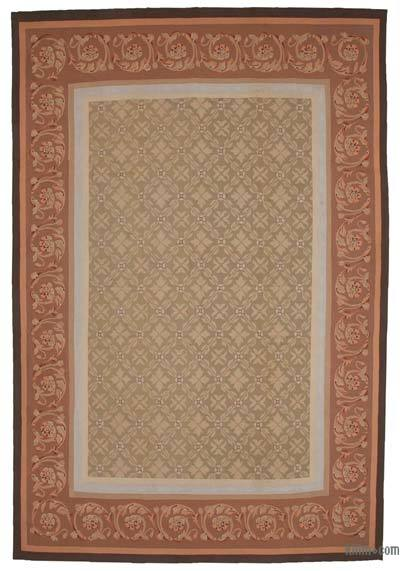 "Aubusson Rug - 9' 5"" x 14'  (113 in. x 168 in.)"