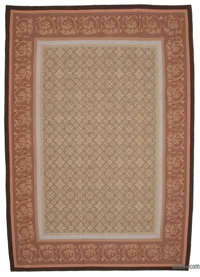"Aubusson Rug - 9' 8"" x 13' 10"" (116 in. x 166 in.)"
