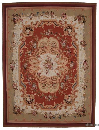 "Aubusson Rug - 10' 6"" x 14'  (126 in. x 168 in.)"
