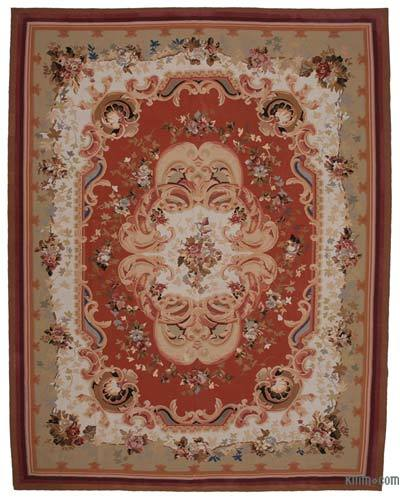 "Aubusson Rug - 10' 4"" x 13' 5"" (124 in. x 161 in.)"