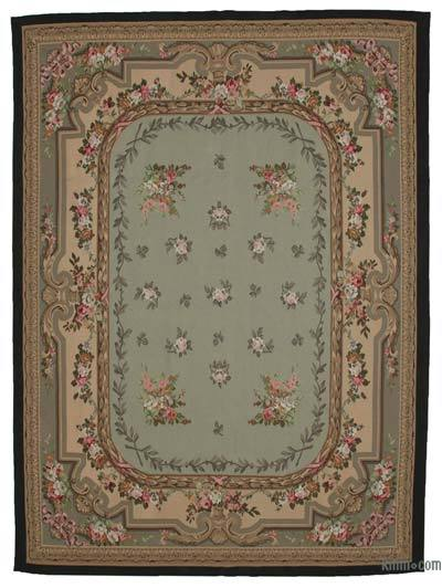 "Aubusson Rug - 8'10"" x 11'11"" (106 in. x 143 in.)"