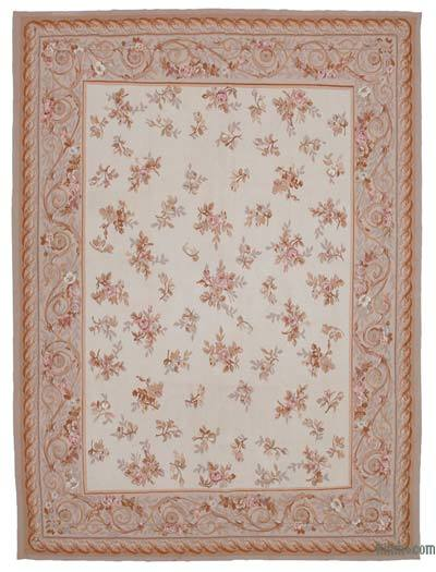 "Aubusson Rug - 8' 8"" x 11' 7"" (104 in. x 139 in.)"