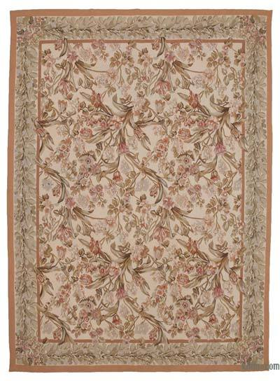 "Aubusson Rug - 8' 10"" x 12' 2"" (106 in. x 146 in.)"