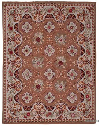 "Aubusson Rug - 7' 9"" x 10'  (93 in. x 120 in.)"