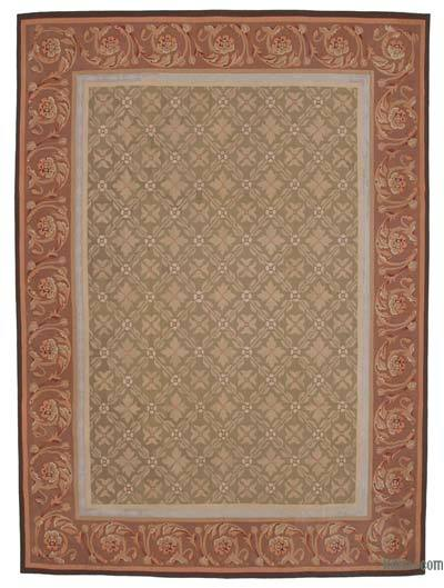 """Aubusson Rug - 8'8"""" x 11'10"""" (104 in. x 142 in.)"""
