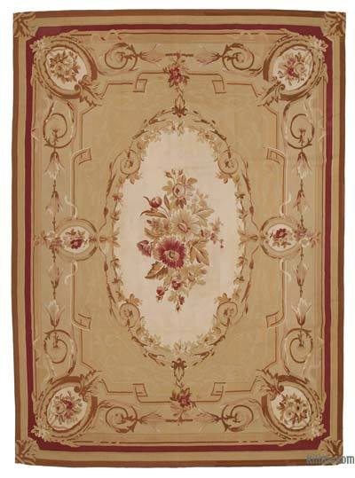 "Aubusson Rug - 8' 7"" x 11' 9"" (103 in. x 141 in.)"