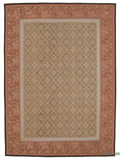 "Aubusson Rug - 8' 9"" x 11' 11"" (105 in. x 143 in.)"