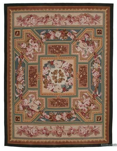 "Aubusson Rug - 9' 2"" x 12' 1"" (110 in. x 145 in.)"