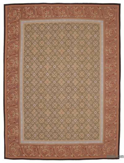 "Aubusson Rug - 8' 9"" x 11' 8"" (105 in. x 140 in.)"