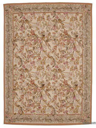 "Aubusson Rug - 8' 8"" x 12' 1"" (104 in. x 145 in.)"