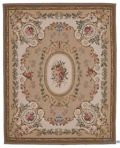 "Aubusson Rug - 8' 10"" x 11' 1"" (106 in. x 133 in.)"