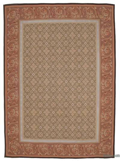 "Aubusson Rug - 8' 7"" x 12'  (103 in. x 144 in.)"