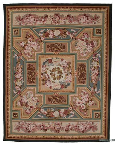 "Aubusson Rug - 9' 3"" x 11' 10"" (111 in. x 142 in.)"