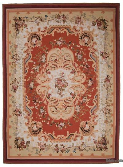 "Aubusson Rug - 10'  x 13' 11"" (120 in. x 167 in.)"