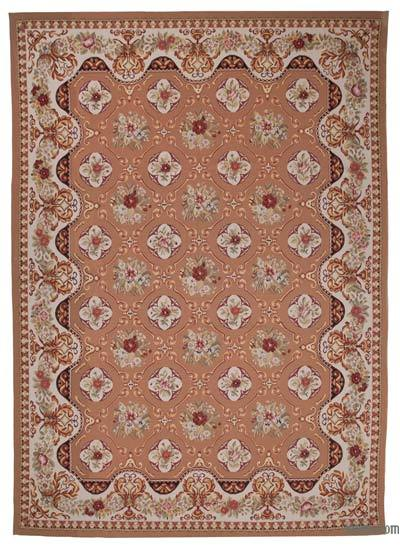 Aubusson Rug - 10'  x 14'  (120 in. x 168 in.)