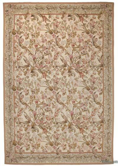 "Aubusson Rug - 9'9"" x 14'2"" (117 in. x 170 in.)"