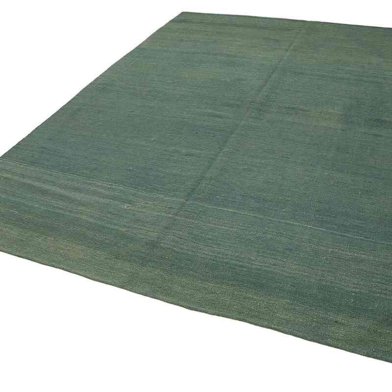 Yeşil Modern Yeni Kilim - 222 cm x 291 cm - K0037700