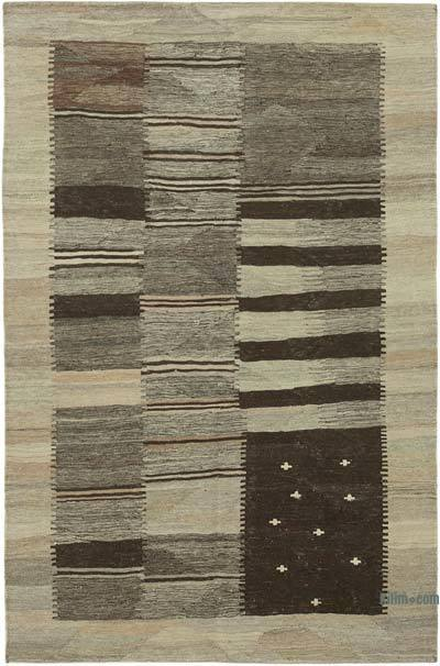 "New Contemporary Kilim Rug - Z Collection - 4' 1"" x 6' 4"" (49 in. x 76 in.)"