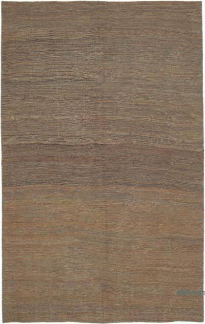 Kahverengi Modern Yeni Kilim - 192 cm x 305 cm