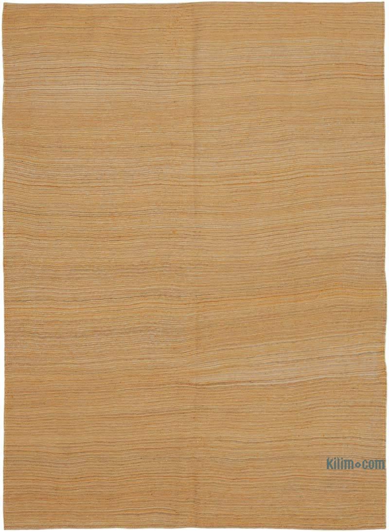 Sarı Modern Yeni Kilim - 159 cm x 218 cm - K0037708