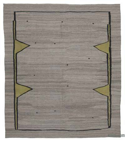 "New Contemporary Kilim Rug - Z Collection - 7'10"" x 9'2"" (94 in. x 110 in.)"