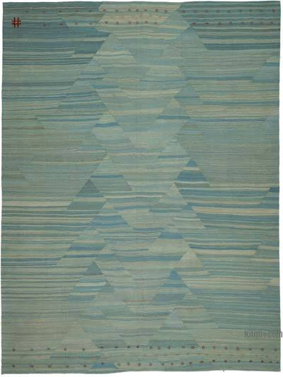 "New Contemporary Kilim Rug - Z Collection - 8'8"" x 11'6"" (104 in. x 138 in.)"