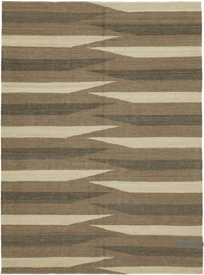 "New Contemporary Kilim Rug - Z Collection - 5'9"" x 7'9"" (69 in. x 93 in.)"