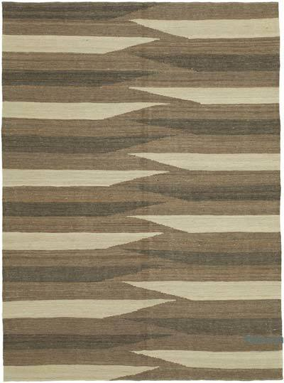 "New Contemporary Kilim Rug - Z Collection - 5'10"" x 7'10"" (70 in. x 94 in.)"