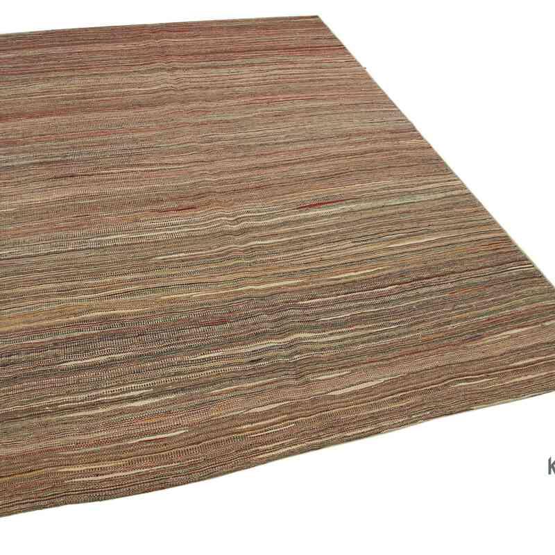 Kahverengi Modern Yeni Kilim - 172 cm x 242 cm - K0037719