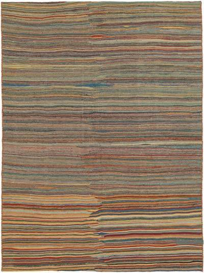 "New Contemporary Kilim Rug - Z Collection - 6' 8"" x 8' 11"" (80 in. x 107 in.)"