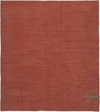 Kırmızı Modern Yeni Kilim - 260 cm x 290 cm
