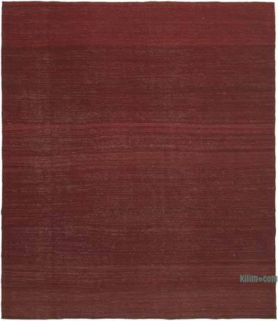 Kırmızı Modern Yeni Kilim - 281 cm x 326 cm
