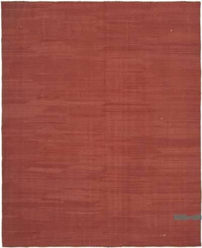 Kırmızı Modern Yeni Kilim - 245 cm x 301 cm