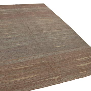 """Multicolor New Contemporary Kilim Rug - Z Collection - 6' 10"""" x 10' 11"""" (82 in. x 131 in.) - K0037753"""