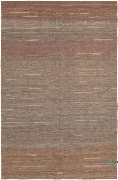 "Multicolor New Contemporary Kilim Rug - Z Collection - 6' 10"" x 10' 11"" (82 in. x 131 in.)"