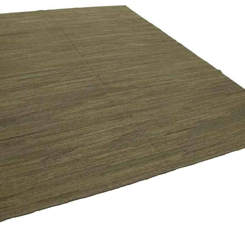 Yeşil Modern Yeni Kilim - 255 cm x 313 cm - K0037756