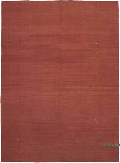 "Red New Contemporary Kilim Rug - Z Collection - 8' 4"" x 11' 4"" (100 in. x 136 in.)"