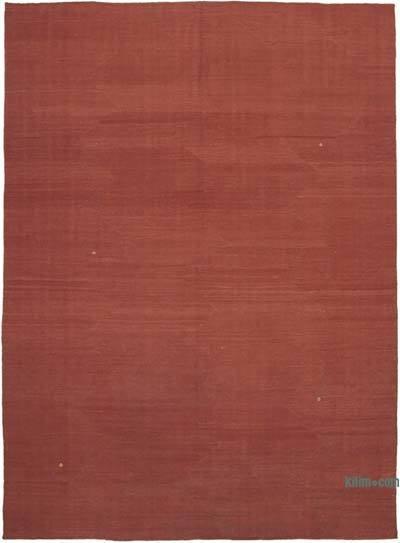 Kırmızı Modern Yeni Kilim - 253 cm x 346 cm