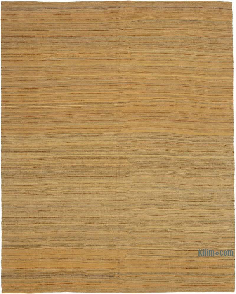 Sarı Modern Yeni Kilim - 207 cm x 258 cm - K0037769
