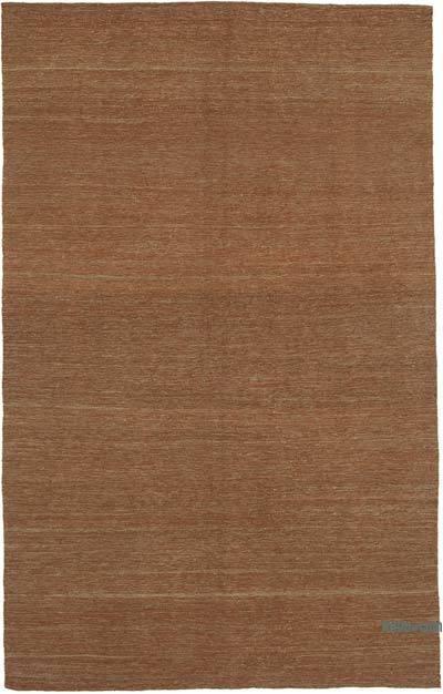 Kahverengi Modern Yeni Kilim - 188 cm x 296 cm