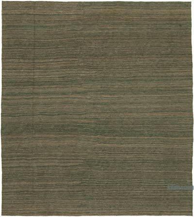 Yeşil Modern Yeni Kilim - 253 cm x 386 cm