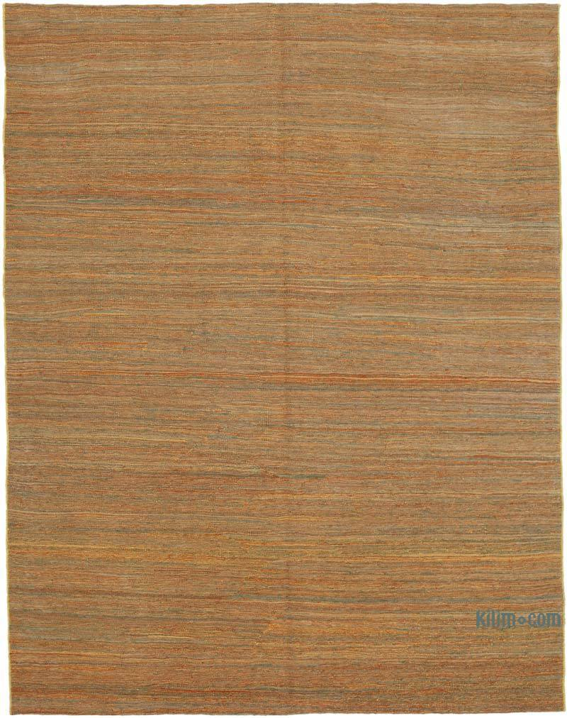 """Multicolor New Contemporary Kilim Rug - Z Collection - 6' 3"""" x 8'  (75 in. x 96 in.) - K0037800"""