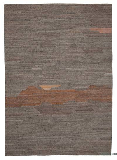 "New Contemporary Kilim Rug - Z Collection - 8'7"" x 12'2"" (103 in. x 146 in.)"