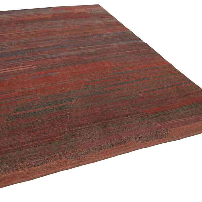 Kırmızı, Lacivert Modern Yeni Kilim - 212 cm x 292 cm - K0037819