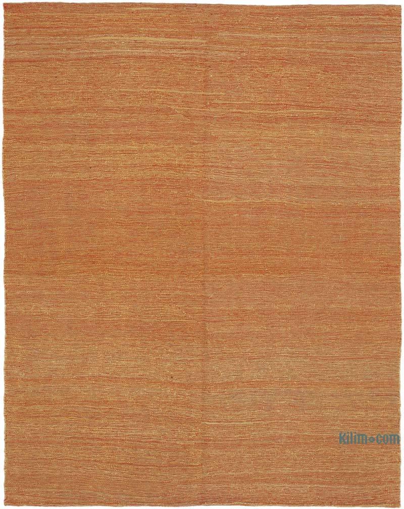 Turuncu Modern Yeni Kilim - 166 cm x 214 cm - K0037825