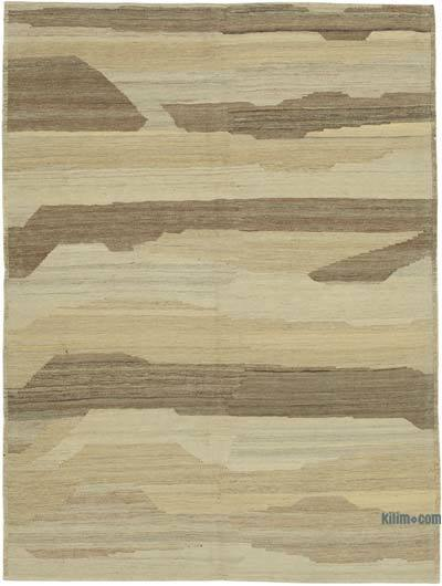 "New Contemporary Kilim Rug - Z Collection - 4'11"" x 6'6"" (59 in. x 78 in.)"