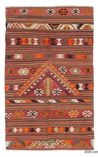 Alfombra Konya Kilim Vintage - 124 cm x 199 cm